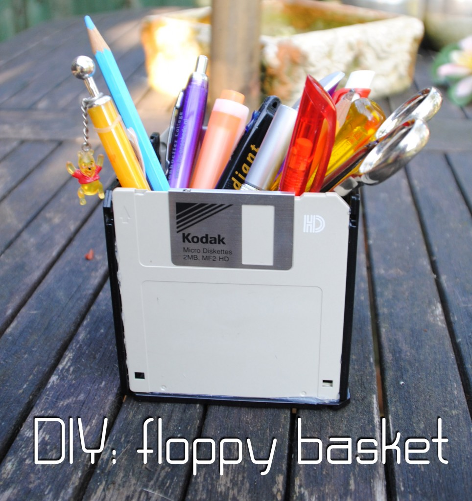DIY Floppy basket